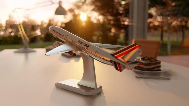 Agencia de viajes en avion
